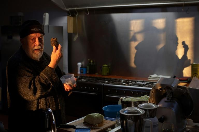 Volker Miros, 81, picked mushrooms with his grandfather as a child in Germany