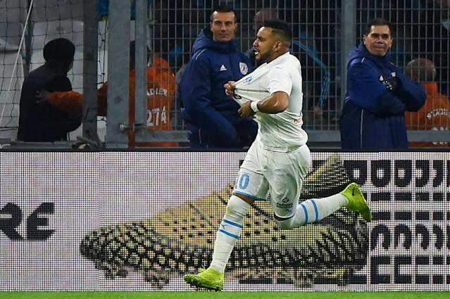 Payet was in inspired form in a stormy encounter (AFP Photo/Sylvain THOMAS)