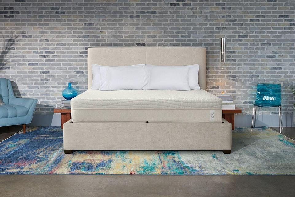 "<p><strong>Sleep Number</strong></p><p>sleepnumber.com</p><p><strong>$2399.00</strong></p><p><a href=""https://www.sleepnumber.com/beds/Performance-Series-Beds/p/p6"" rel=""nofollow noopener"" target=""_blank"" data-ylk=""slk:Shop Now"" class=""link rapid-noclick-resp"">Shop Now</a></p><p><em><em>•</em> </em><strong>Height: </strong>11""<br><em><em>•</em></em> <strong>Firmness levels</strong><strong>: </strong>Adjustable<br><em><em>•</em></em> <strong>Sizes</strong><strong>:</strong> Twin XL, Queen, King, California King </p><p>Perfect for couples (especially ones that don't agree on firmness), Sleep Number mattresses are <strong>filled with <a href=""https://www.goodhousekeeping.com/home-products/a28449532/best-adjustable-bed-mattresses/"" rel=""nofollow noopener"" target=""_blank"" data-ylk=""slk:adjustable air chambers"" class=""link rapid-noclick-resp"">adjustable air chambers</a> so each side of the bed can be customized to whatever firmness level you choose.</strong> Plus, biometric sensors in the mattress can tell if you've switched positions and it'll automatically adjust so you stay at your preferred firmness all night. Even better, it's a top performer in our Textiles Lab's review and is backed by the <a href=""https://www.goodhousekeeping.com/institute/about-the-institute/a22148/about-good-housekeeping-seal/"" rel=""nofollow noopener"" target=""_blank"" data-ylk=""slk:Good Housekeeping Seal"" class=""link rapid-noclick-resp"">Good Housekeeping Seal</a>.</p><p>It's expensive, but it got high scores for comfort, support, and sleep quality from both our testers and users on our survey panel. One said, ""I was initially hesitant because of the cost, but as soon as I laid on it, it changed my mind,"" while another said ""I wish we would have purchased this brand sooner."" The brand also has a 100-night trial period for mattresses, and there are sleep tracking capabilities to give you feedback on your smartphone. </p>"