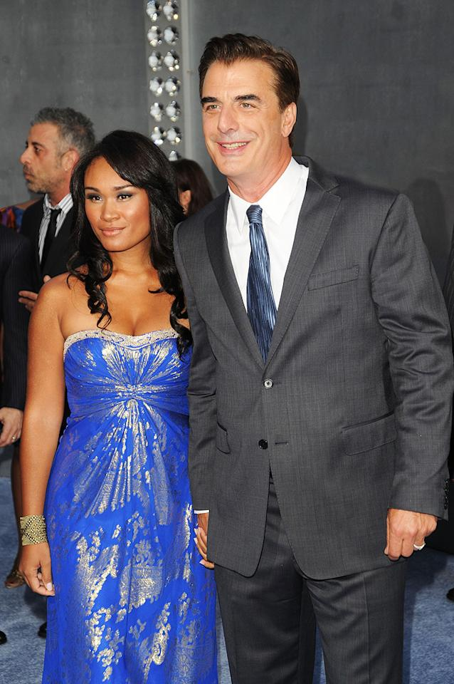 "<a href=""http://movies.yahoo.com/movie/contributor/1800082485"">Chris Noth</a> and Tara Wilson at the New York City premiere of <a href=""http://movies.yahoo.com/movie/1810111276/info"">Sex and the City 2</a> - 05/24/2010"