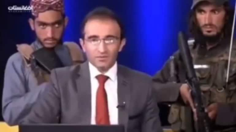 anchor forced to laud Taliban