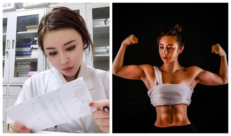 Traditional Chinese medicine doctor Yuan Herong has gone viral for her incredibly toned physique. — Picture via Instagram/yuanherong1229