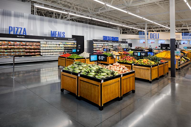 Walmart is unveiling a new store design for the digital age.