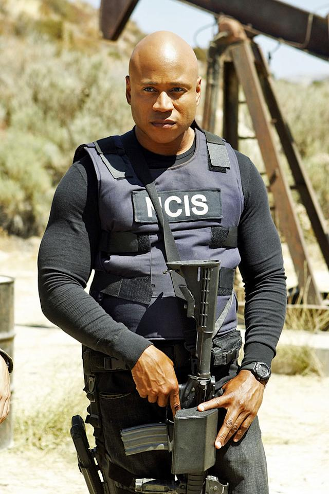 """<strong>LL Cool J (""""NCIS: Los Angeles""""), 44</strong><br><br>  Like his """"<span>NCIS: Los  Angeles""""</span> character, LL Cool J (Sam Hanna) is multitalented. Born James Todd Smith on January 14, 1968, he got his start as a rapper before taking the leap into acting. Now 44, he's in awesome shape, continues to make new music, and stars on one of TV's highest-rated shows. His name says it all: Ladies (Still) Love Cool James."""