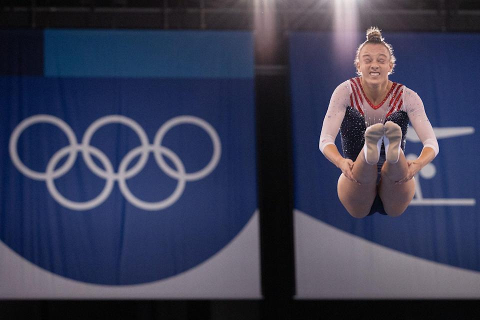 <p>A member of Team USA, Ahsinger finished in sixth during her second Games.</p>