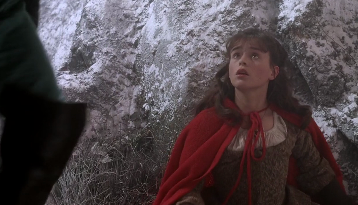 <p>Neil Jordan's haunting adaptation of Angela Carter's short story gives us our most sinister big screen take on the tale of Little Red Riding Hood, with Sarah Patterson in the lead. (Picture credit: ITC) </p>