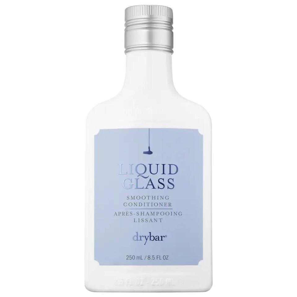 <p>If you have dry and damaged ends, try out this <span>Drybar Liquid Glass Smoothing Conditioner</span> ($26) for a soft and silky blowout. </p>