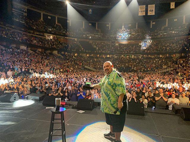"""<p>His name is Gabriel Iglesias, but you can call him Fluffy. Iglesias is one of the most popular Hispanic stand-up comedians working today, <a href=""""http://www.wingseventcenter.com/events/2020/gabrieliglesias"""" rel=""""nofollow noopener"""" target=""""_blank"""" data-ylk=""""slk:selling out stadiums"""" class=""""link rapid-noclick-resp"""">selling out stadiums</a> like Madison Square Garden. Iglesias's latest gig is playing the titular character in the Netflix series <em><a href=""""https://www.netflix.com/title/80209013"""" rel=""""nofollow noopener"""" target=""""_blank"""" data-ylk=""""slk:Mr. Iglesias"""" class=""""link rapid-noclick-resp"""">Mr. Iglesias</a></em>, a kind-hearted comedy about a high school teacher trying to make a difference in kids' lives. </p><p><a class=""""link rapid-noclick-resp"""" href=""""https://www.youtube.com/watch?v=UwdhjwLxvqs"""" rel=""""nofollow noopener"""" target=""""_blank"""" data-ylk=""""slk:Watch His Standup"""">Watch His Standup</a></p><p><a href=""""https://www.instagram.com/p/B828R4pJv-s/"""" rel=""""nofollow noopener"""" target=""""_blank"""" data-ylk=""""slk:See the original post on Instagram"""" class=""""link rapid-noclick-resp"""">See the original post on Instagram</a></p>"""