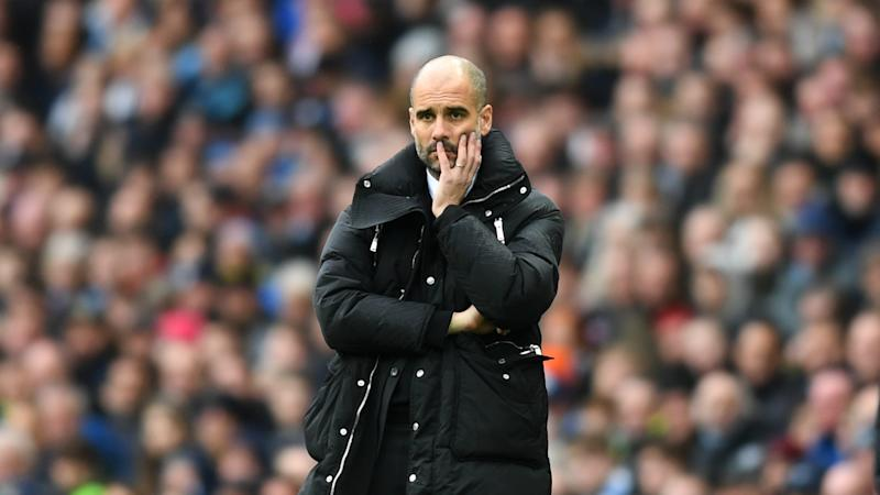 Guardiola accused of 'losing his aura' by former Man City striker Quinn