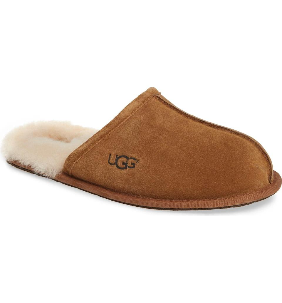 <p>These <span>UGG Scuff Slippers</span> ($80) come in so many color choices.</p>