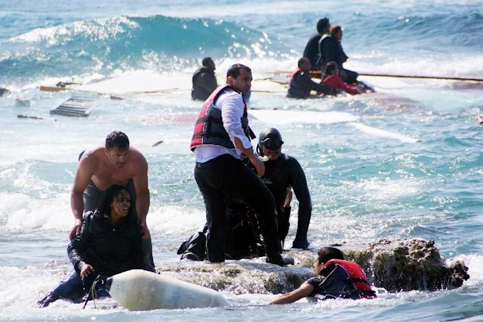 More than 1,750 migrants have perished trying to cross the Mediterranean Sea since the start of the year, according to the International Organization for Migration (AFP Photo/Argiris Mantikos)