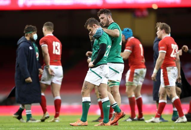 Billy Burns made a costly error after coming off the bench against Wales