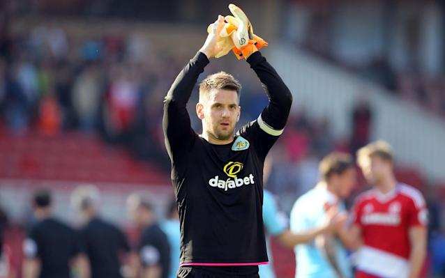 Heaton ensured Burnley left the north east with a point - PA