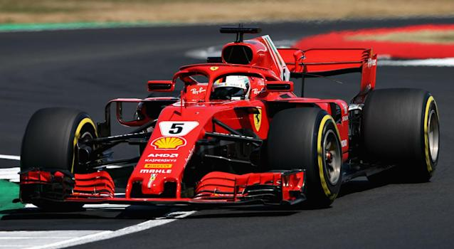 Although he sits on top of the Formula One drivers' standings, Sebastian Vettel is keen for Ferrari to keep improving his car.