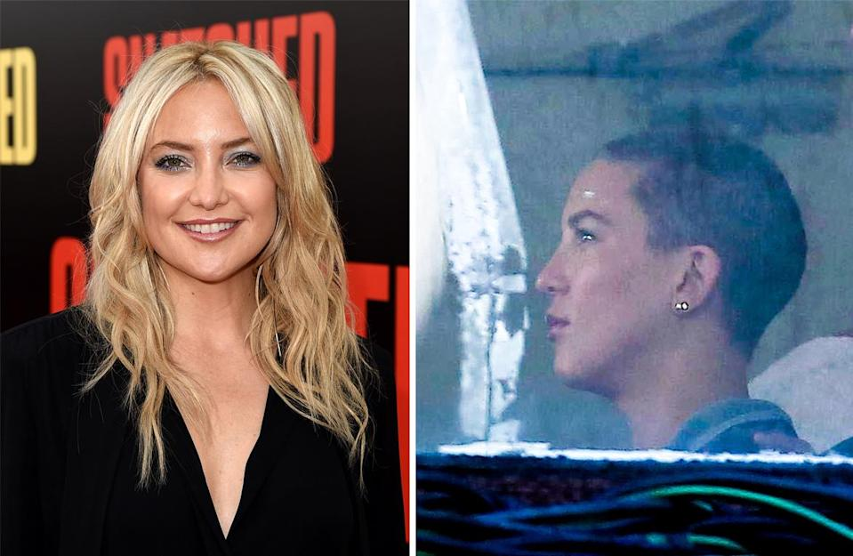 <p><strong>When:</strong> July 25<br>The actress went from American bombshell to shaven-headed star for her role in upcoming film, 'Sister'.<br><i>[Photo: Getty/Backgrid]</i> </p>