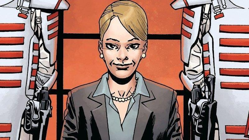 Pamela Milton in Robert Kirkman's 'Walking Dead' comic book series