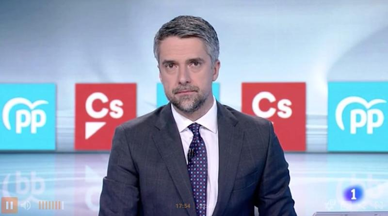 Carlos Franganillo (Photo: TVE)