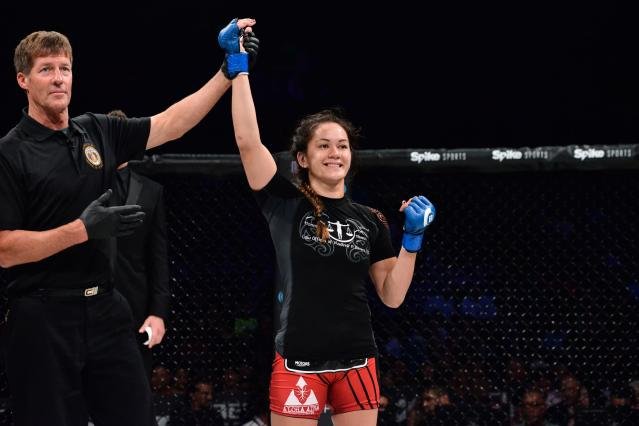 Ilima-Lei MacFarlane fights Nov. 3 for the inaugural Bellator women's flyweight championship. (Special to Yahoo Sports)