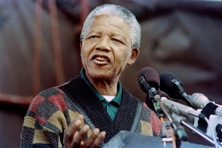 Released in 1990, Nelson Mandela was elected president four years later at the age of 75 in South Africa's first multiracial election