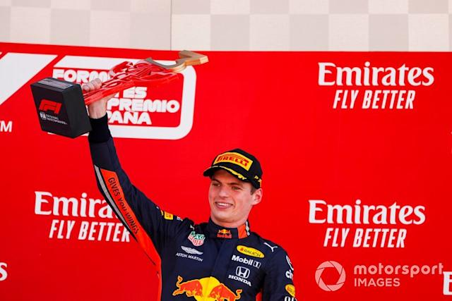 """Barcelona: Max Verstappen (Red Bull) <span class=""""copyright"""">Zak Mauger / LAT Images</span>"""