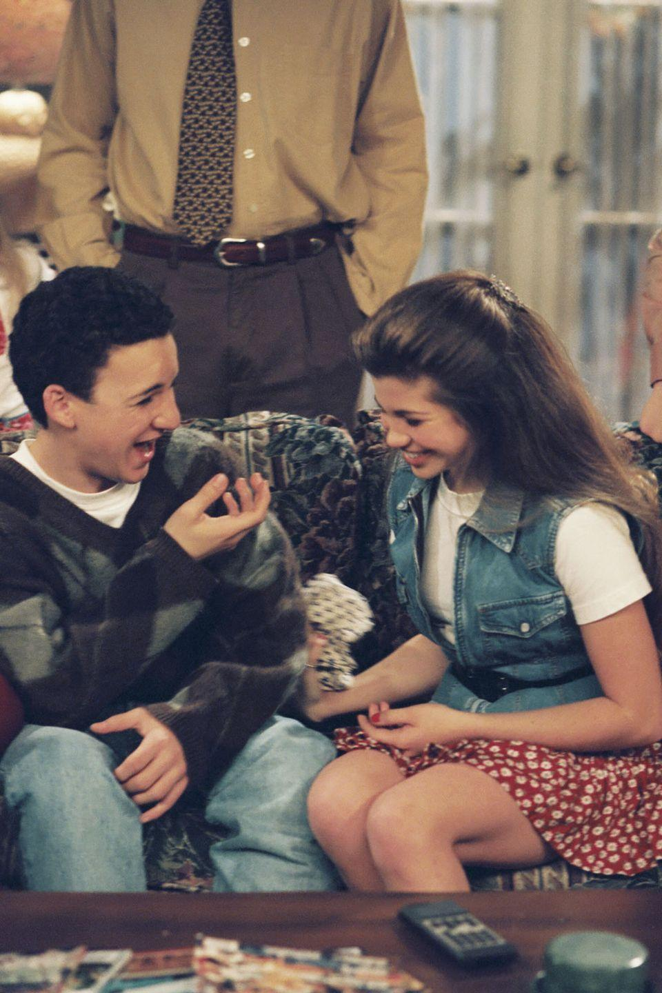 <p>High school sweethearts are the sweetest sweethearts.</p>