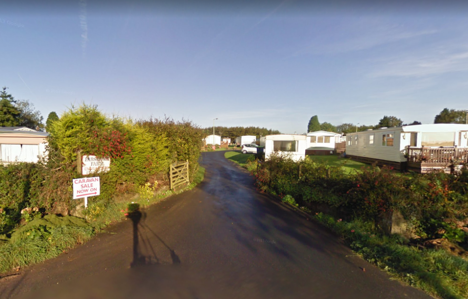 Wynford Hodge owned Parsonage Farm and Caravan Park in Wales (Picture: Google)