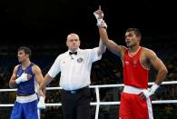 FILE PHOTO: Boxing - Men's Middle (75kg) Round of 16 Bout 149