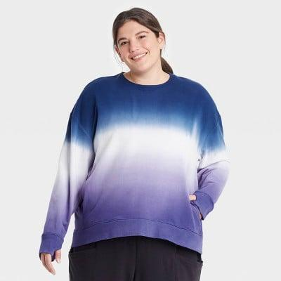 <p>Tie-dye is always a good idea, just look at this <span>All in Motion Crewneck Sweatshirt</span> ($24).</p>