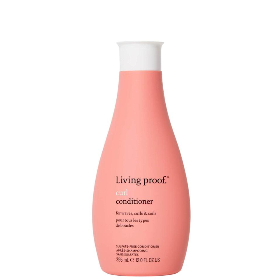 """<p>""""The <span>Living Proof Curl Shampoo</span> ($32) really does cleanse, moisturize, and detangle all in one step,"""" Douglas said. """"Remember, you don't need to use too much; a little goes a long way, and it's a low-foam product, so don't expect lots of bubbles and foam. It's just not needed.""""</p>"""