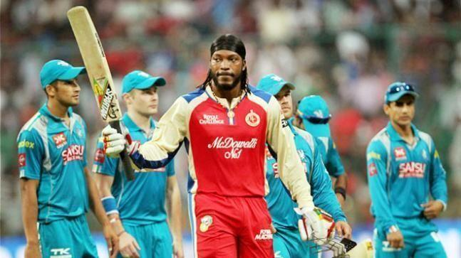 Chris Gayle took the Pune Warriors attack to the cleaners in IPL 2013