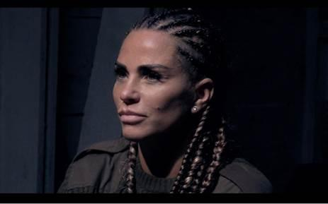 Katie Price admitted she was disappointed in herself. (Channel 4)