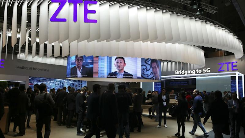 ZTE's stocks surge by 17 percent after it deposited the final $400 mn to the US