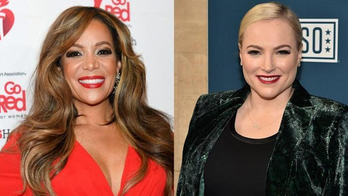 Sunny Hoston and Meghan McCain expressed differing viewpoints on the Capitol riots.