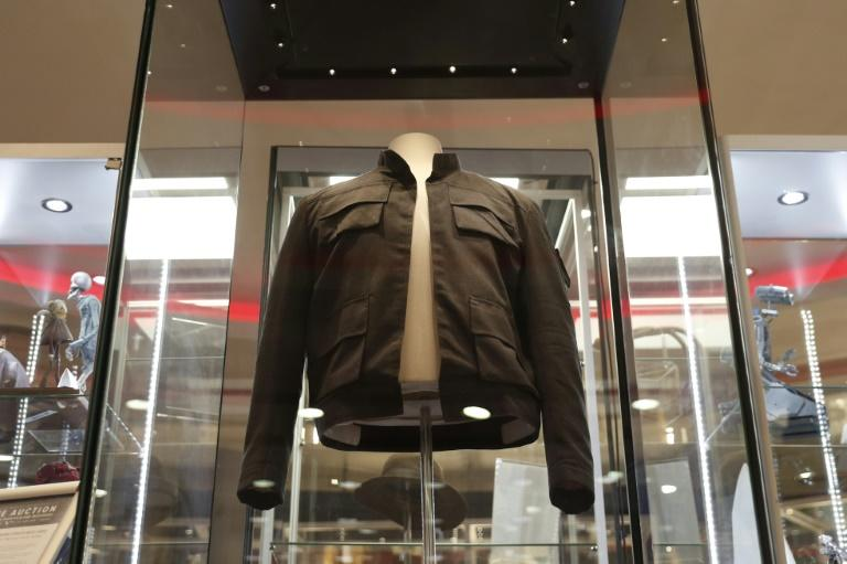 "Han Solo's jacket from ""The Empire Strikes Back"" was expected to fetch up to £1 million at Thursday's auction"