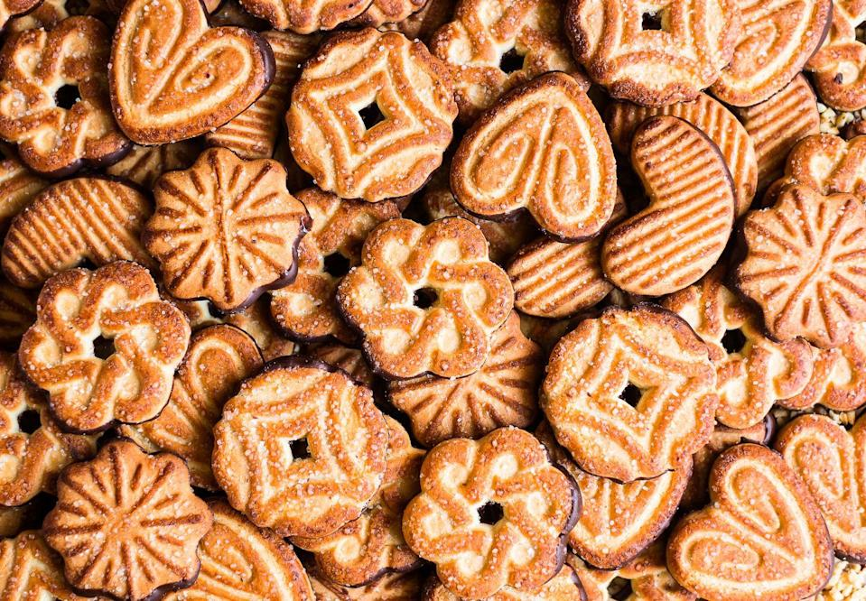 """<p>Wisconsin, too, enjoys all sorts of cookies around the holidays—and the state always will!</p><p>Get the <a href=""""https://www.delish.com/cooking/g1956/best-cookies/"""" rel=""""nofollow noopener"""" target=""""_blank"""" data-ylk=""""slk:recipe"""" class=""""link rapid-noclick-resp"""">recipe</a>.</p>"""