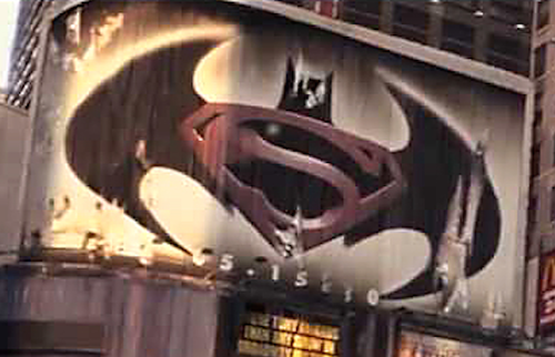 Hey Weve Seen That Batman Superman Poster Before
