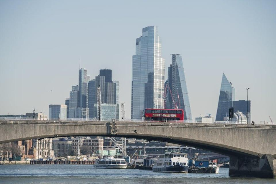 London markets drifted lower in trading on Thursday (Ian West/PA) (PA Archive)
