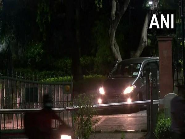 Visuals from Prime Minister's residence at 7, Lok Kalyan Marg in New Delhi. (Photo/ANI)
