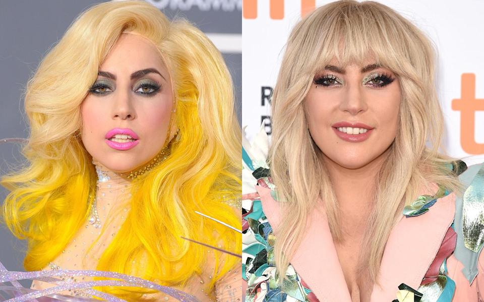 <p>Lady Gaga will more than likely continue to change her makeup, style, and possibly even her music, but many enjoy seeing a toned-down version of it all every now and again. (Photo: Getty Images) </p>