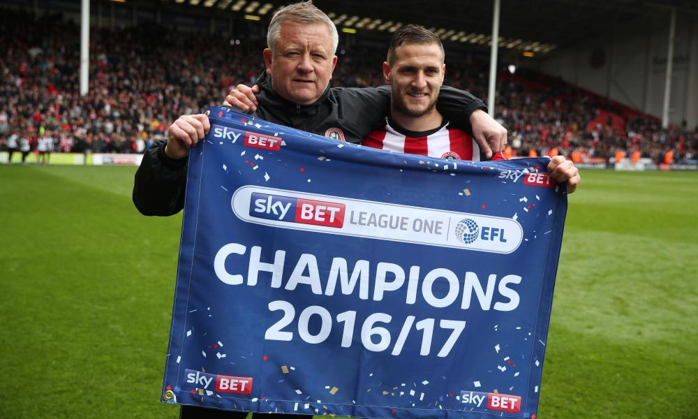 Chris Wilder and Billy Sharp.