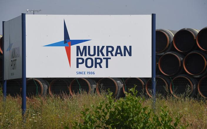 Nord Stream German port