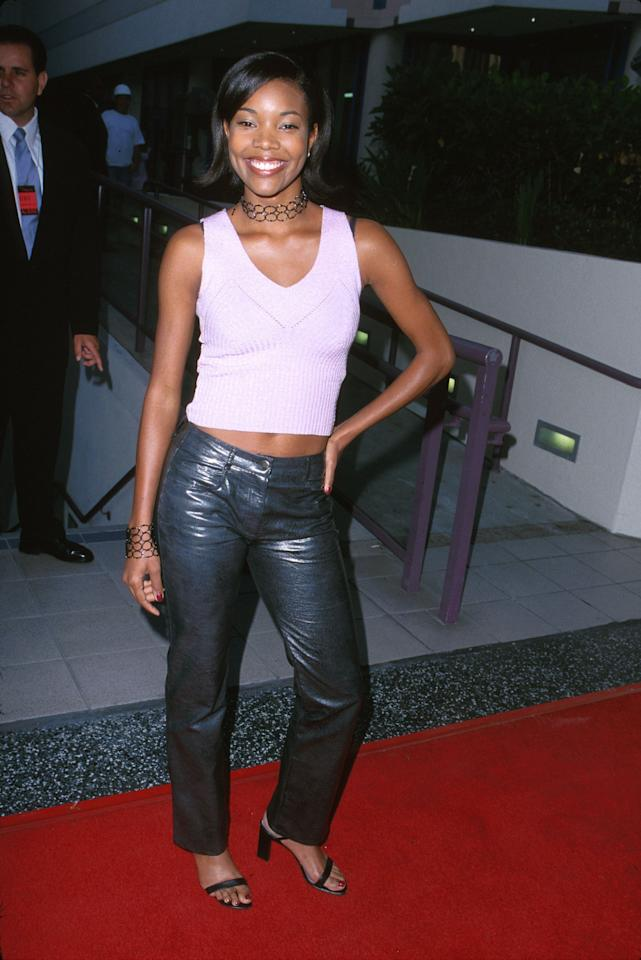 <p>Union walked the red carpet of the Annual Young Hollywood Awards in 2000 with a short bob haircut and flipped out ends.</p>
