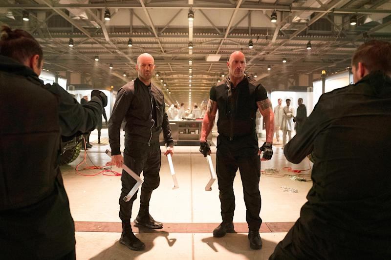 Is Hobbs & Shaw connected to another Jason Statham movie?