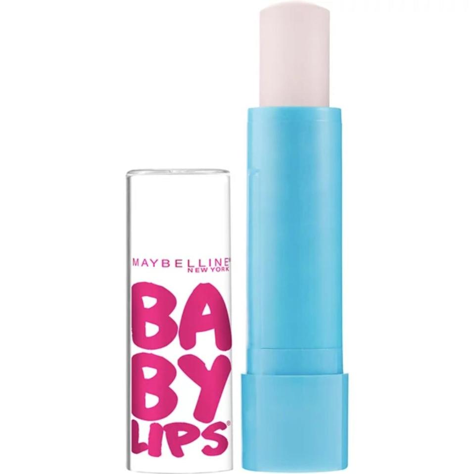 """<p>""""Shout-out for <span>Maybelline Baby Lips Moisturizing Lip Balm</span> ($7); cheap and cheerful and the cherry one is amazing. For reasons unknown, this didn't come to the UK until a few years ago, and I once panic-bought about eight tubes on a trip to the US because I'd heard to much about it."""" - Gemma Cartwright, senior editor, POPSUGAR UK </p>"""