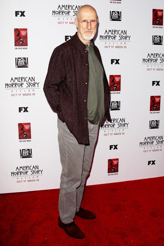 "James Cromwell attends the ""American Horror Story: Asylum"" premiere held at Paramount Studios on October 13, 2012 in Hollywood, California."