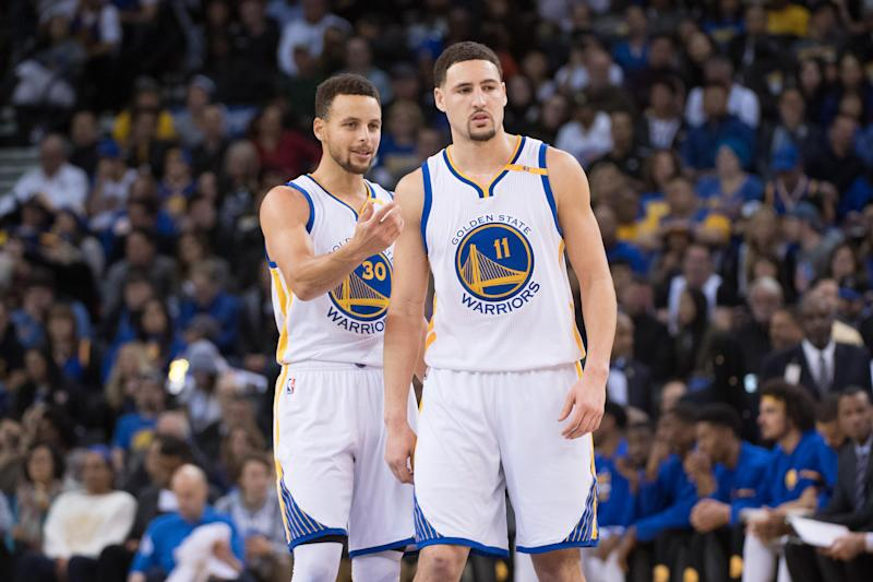 Klay Thompson and Steph Curry have been cornerstones of three title teams in Golden State.