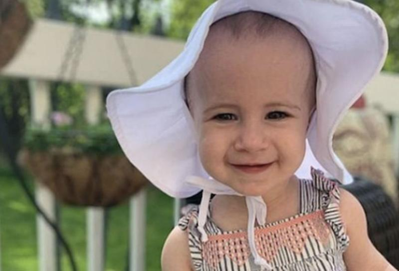 Chloe Wiegand, 1, pictured.