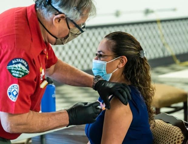 As the U.S. continues to vaccinate its citizens with supplies of vaccines produced in the U.S., Canada is hoping it will be the first to get surplus vaccine supplies.
