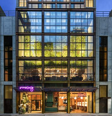 Moxy Chelsea opens today in New York's Flower District