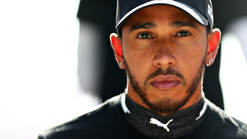 Lewis Hamilton, pictured here at the Russian Grand Prix.